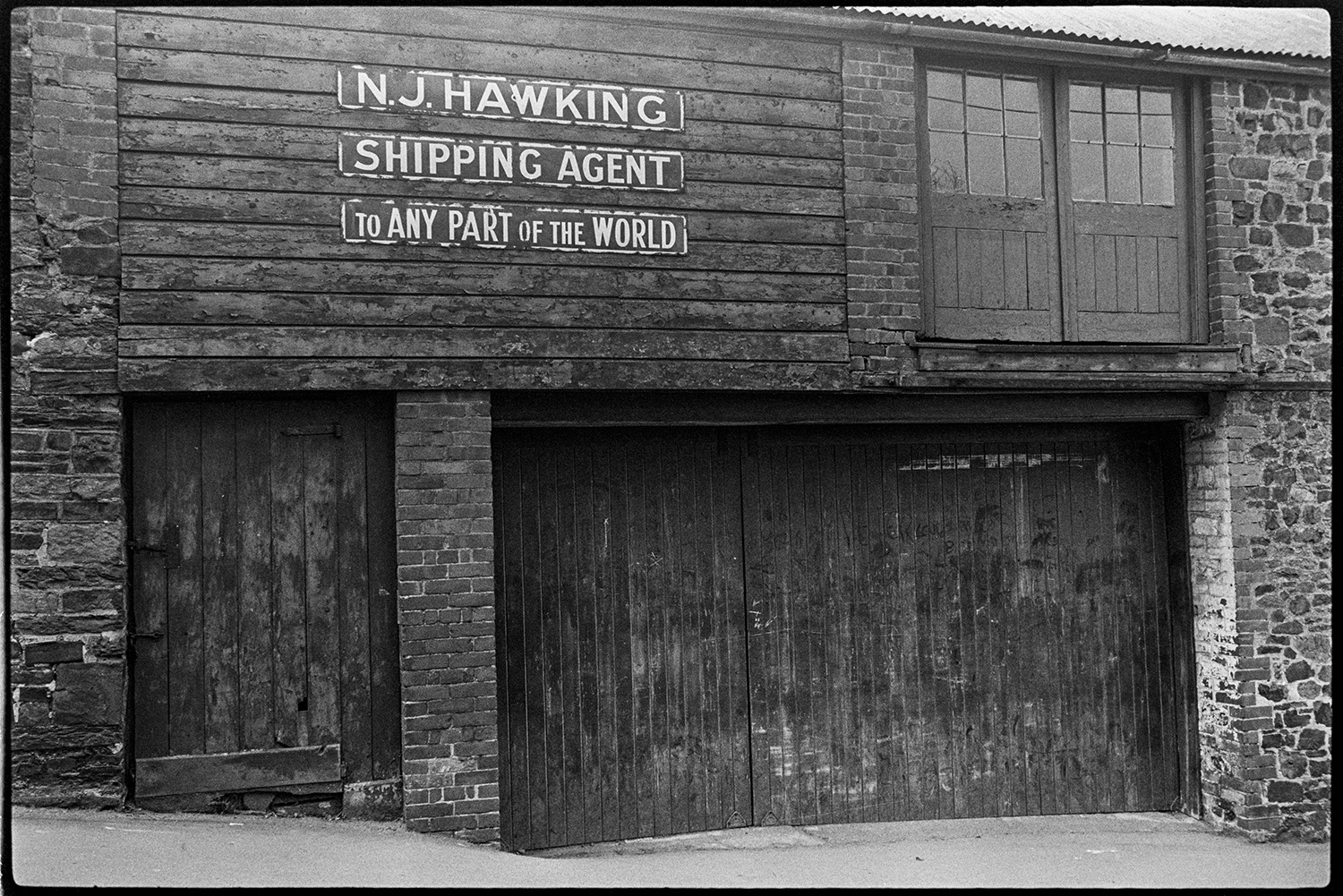 The exterior of N J Hawking, Shipping Agent.