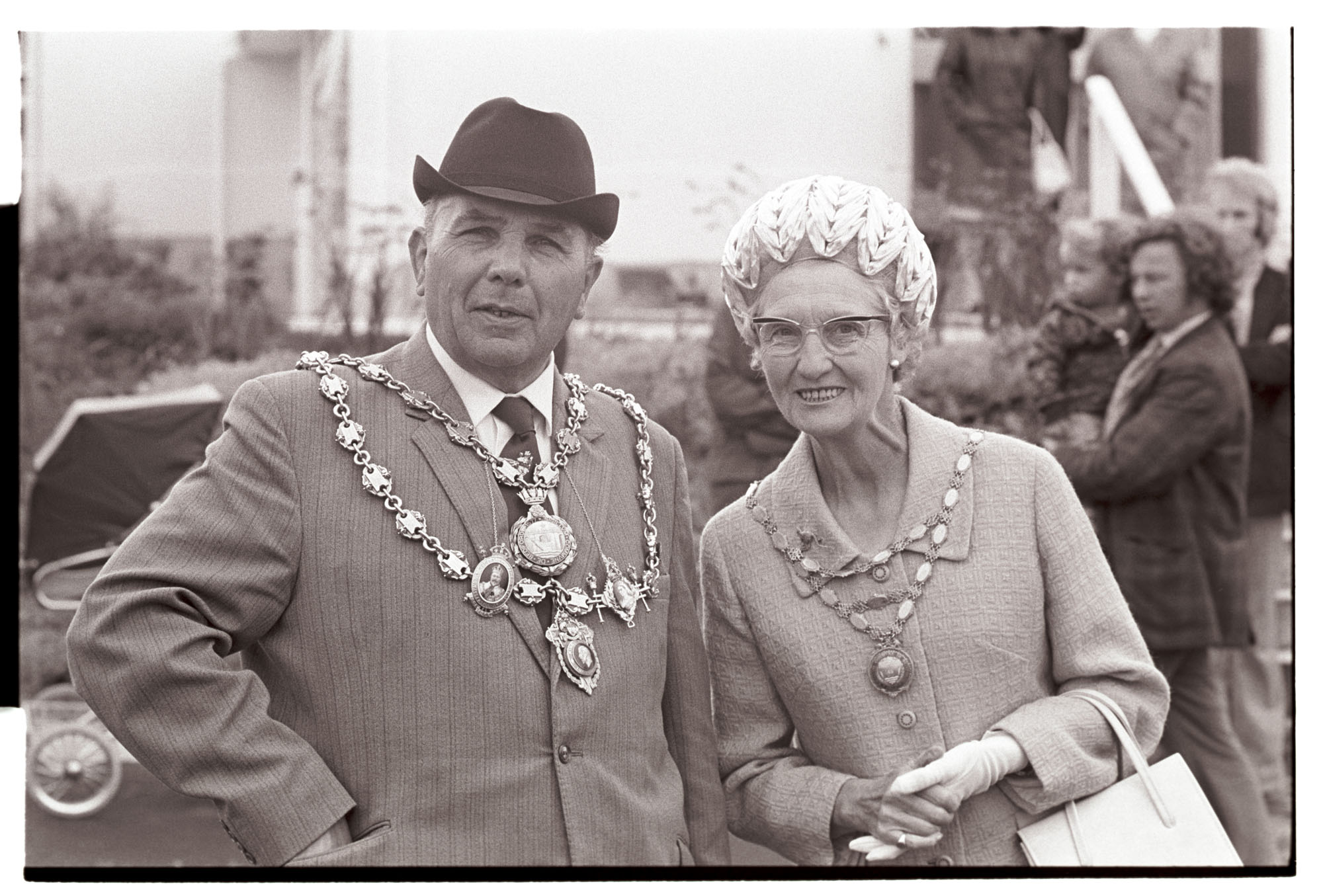 Mayor and Mayoress by James Ravilious
