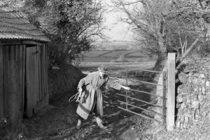 Keith Allin by James Ravilious