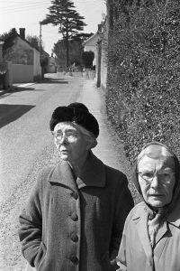 Miss Steele and Mrs Laperriere by James Ravilious