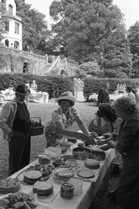 Church Garden Party by James Ravilious