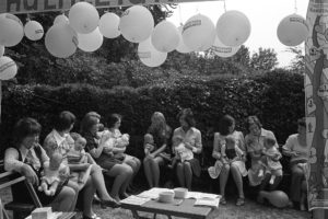 Baby Show at Chulmleigh Church Fete by James Ravilious