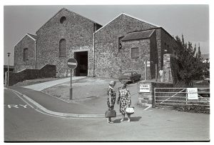 Former market buildings by James Ravilious