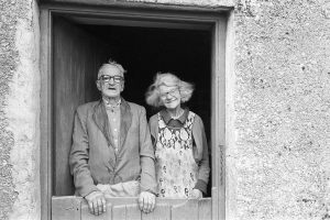 Percy and Alice Shaxton by James Ravilious