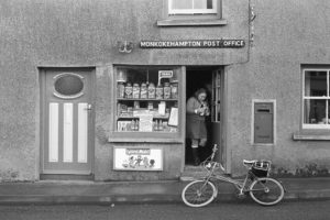 Monkokehampton Post Office by James Ravilious