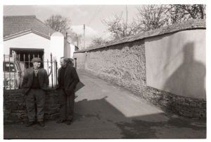 Harold Piper and Argo Pickard by James Ravilious