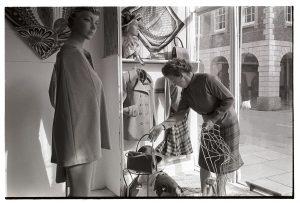 Clothes shop by James Ravilious