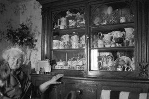 Gracie Fursdon and her dresser by James Ravilious
