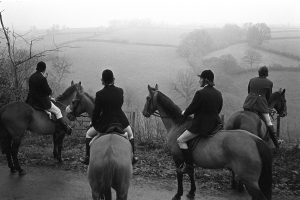 Listening for the hounds by James Ravilious