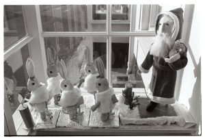 Emily Easterbrook's Christmas dolls by James Ravilious