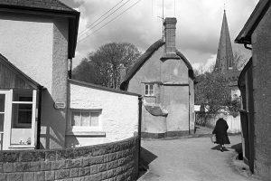 Village street by James Ravilious