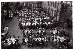 Jubilee tea at Pickard's warehouse by James Ravilious