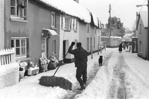 Dolton after the great blizzard by James Ravilious