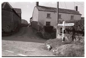Village scene by James Ravilious