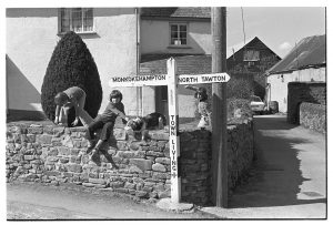 Town Living Cross by James Ravilious