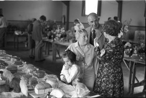 Flower Show exhibits by James Ravilious