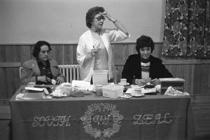 South Zeal Women's Institute meeting by James Ravilious