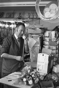 Shop Proprietor by James Ravilious