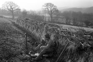 Hedger's lunch break: Stephen Squire by James Ravilious