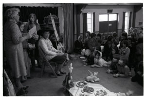 Easter party by James Ravilious