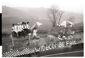 Carnival float: Widecombe Fair by James Ravilious