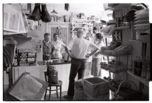 Bird's grocery store by James Ravilious