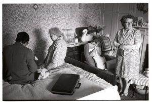 Dr Paul Bangay visiting a patient by James Ravilious