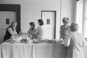 Refreshments at a Women's Institute meeting by James Ravilious