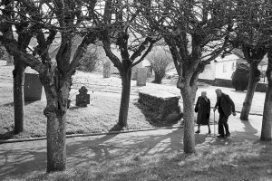 Going to early Communion by James Ravilious