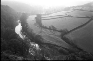 Fields and the River Torridge by James Ravilious