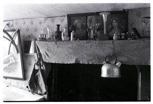 Farmhouse mantelpiece by James Ravilious