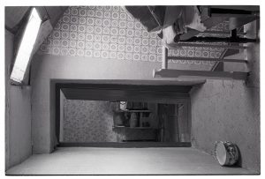 Upstairs landing in Wilfie Spiers's farmhouse by James Ravilious