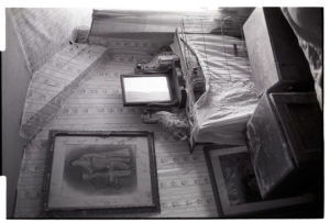 Dissused bedroom in Wilfie Spiers's farmhouse by James Ravilious
