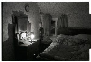 Wilfie Spiers's bedroom by James Ravilious