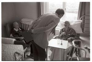 Dr Richard Westcott visiting patients by James Ravilious
