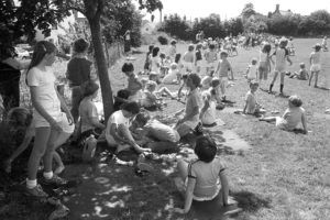 School sports day by James Ravilious