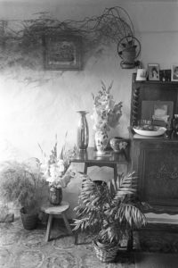 Cottage interior by James Ravilious