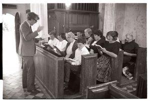 Choir practise by James Ravilious