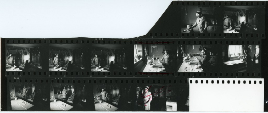 Contact Sheet 77 by James Ravilious