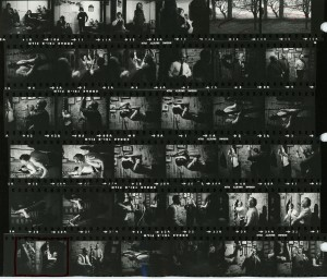 Contact Sheet 105 by James Ravilious
