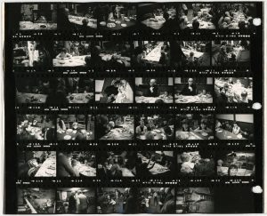 Contact Sheet 106 Part 1 by James Ravilious