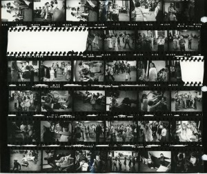 Contact Sheet 107 by James Ravilious