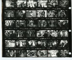 Contact Sheet 109 by James Ravilious
