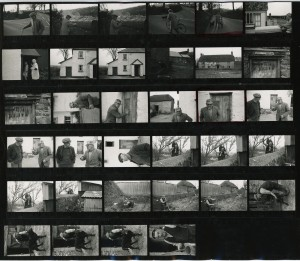 Contact Sheet 183 by James Ravilious
