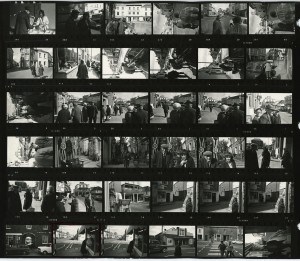 Contact Sheet 184 by James Ravilious