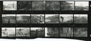 Contact Sheet 185 by James Ravilious