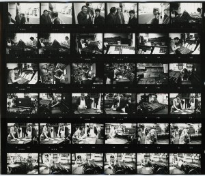 Contact Sheet 186 Parts 1 and 2 by James Ravilious