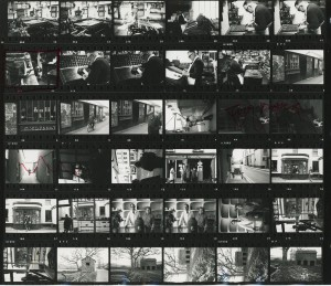 Contact Sheet 187 Parts 1 and 2 by James Ravilious