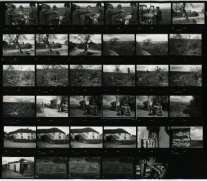 Contact Sheet 194 by James Ravilious