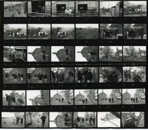 Contact Sheet 196 by James Ravilious